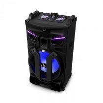 """Auna Silhouettes, párty zvukový systém, 18"""" reproduktor, USB, SD, BT, 600 W, čierny"""