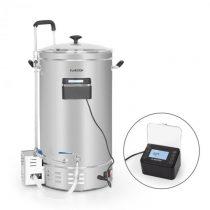 Klarstein Brauheld Pro, sladový kotol, 2500 W, 35 l, 30 – 100 °C, obehové čerpadlo, ušľachtilá oceľ