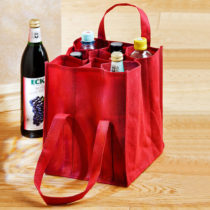 Blancheporte Taška na fľaše, červená červená