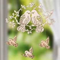 """Blancheporte Dekorácia """"Poletujúce vtáčiky"""""""
