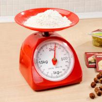 Blancheporte Kuchynské váhy, červená červená