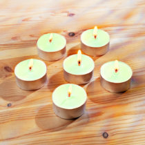 Blancheporte 6 čajových sviečok s jablkovou vôňou