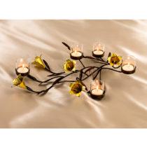 """Blancheporte Svietnik na čajové sviečky """"Kvety"""""""