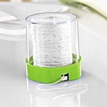 Blancheporte Zásobník + povrázok, zelená zelená