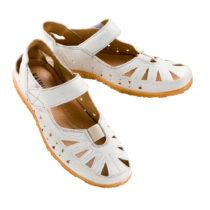 "Blancheporte Sandále ""Sandy"", biela biela 38"