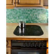 Blancheporte Dekoratívna mozaika, zelená/strieborná zelená