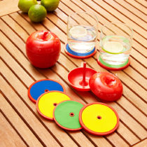 Blancheporte 6 podložiek, jablko