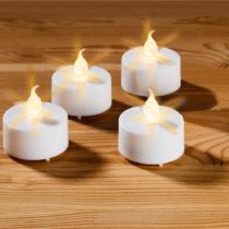 Blancheporte 4 čajové sviečky na batérie