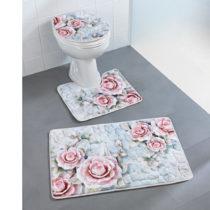 """Blancheporte 3-dielna kúpeľňová súprava """"Ruže"""""""