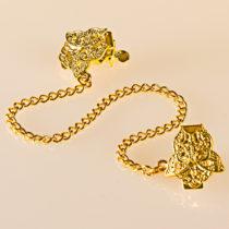 Blancheporte Ozdobné zapínanie, zlatá farba zlatá farba