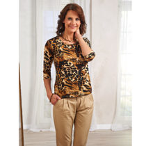 Blancheporte Tričko s leoparďou potlačou L