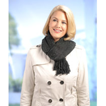 Blancheporte Trblietavý šál, čierna čierna