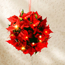 """Blancheporte LED dekorácia """"Vianočná hviezda"""", červená červená"""