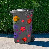 "Blancheporte 23 samolepiacich obrázkov ""Kvety"""