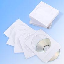 Blancheporte 100 papierových obalov na CD, biela biela