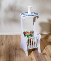Blancheporte Odkladací stolík, biela biela