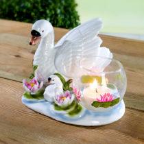 """Blancheporte Svietnik na čajovú sviečku """"Labuť"""""""