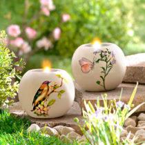 "Blancheporte Svietnik na čajové sviečky ""Vtáčik"" Vtáčik"