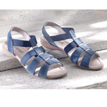 """Blancheporte Sandále """"Nela"""", modrá modrá 36"""