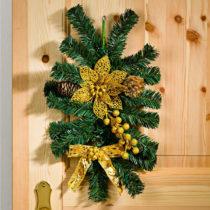 """Blancheporte Dekorácia na dvere """"Advent"""" zlatá"""