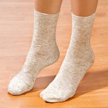 Blancheporte 5 párov ponožiek s ľanom 35/38