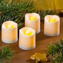Blancheporte 2 LED sviečky, biela biela