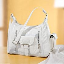 """Blancheporte Kožená taška """"Patchwork"""", biela biela"""
