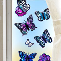 """Blancheporte 8 nálepiek """"Motýle"""""""