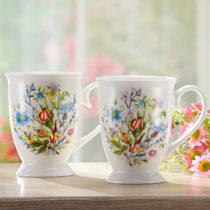 """Blancheporte 1 šálka na kávu """"Kvety"""""""