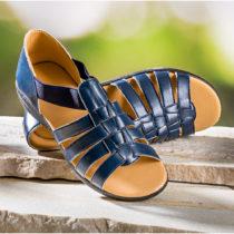 "Blancheporte Sandále ""Mína"", modrá modrá 37"