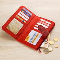 Blancheporte Dámská peňaženka, červená červená