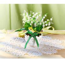 Blancheporte Kvetináč s konvalinkami
