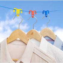 Blancheporte 12 protišmykových klipsov na šnúru na bielizeň