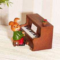 """Blancheporte Hracia skrinka """"Zajac pri klavíri"""""""