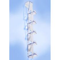 Blancheporte 5-dielny vešiak na kabelky, transparentná transparentná