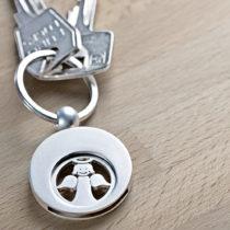 """Blancheporte Prívesok na kľúče """"Anjel strážny"""""""