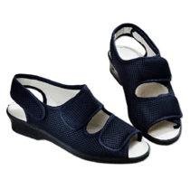Blancheporte Sandále na suchý zips, čierna čierna 37