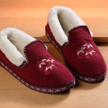 Blancheporte Domáca obuv  Sára , červená červená 36