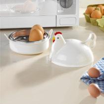 """Blancheporte Miska na vajíčka do mikrovlnky """"Kvočka"""""""
