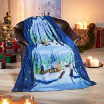 "Blancheporte Fleecová deka ""Dedinka"" 130x160cm"