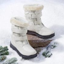 """Blancheporte Zimné topánky """"Snow"""", béžová béžová 37"""
