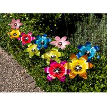 Blancheporte Svetelná reťaz so solárnymi kvetinami