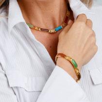 Blancheporte Magnetický náhrdelník, dĺžka 44 cm d.44cm