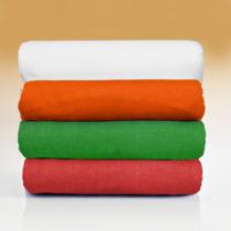 Blancheporte 2 napínacie posteľné plachty, zelená zelená
