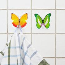 """Blancheporte 2 samodržiace háčiky """"Motýle"""""""