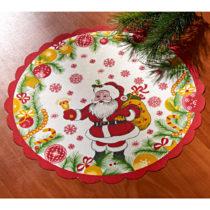 """Blancheporte Dečka """"Santa""""   24 cm pr. 24cm"""