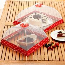 Blancheporte Ochranný poklop, červená-biela, 30 x 30 cm červená-biela 30x30cm