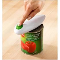 Blancheporte Elektrický otvárač na konzervy + pakľúč na viečka, zelená zelená