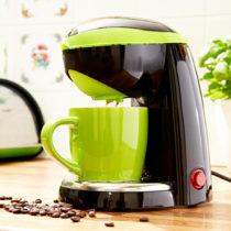 Blancheporte Kávovar na 1 šálku, zelená zelená-čierna