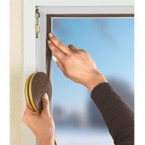 Blancheporte 2 izolačné pásky na okná a dvere 3 m, hnedá hnedá